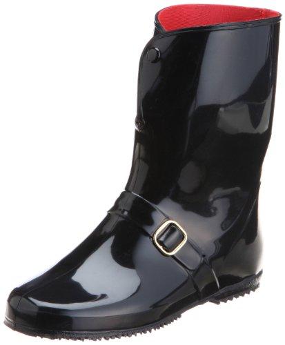 [アキレス] レインブーツ 長靴 作業靴 レインシューズ 日本製 E レディース RLB 4000 黒 24.0 cm E