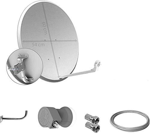 Kit de Antena parabolica de 60 cm (con Cable)