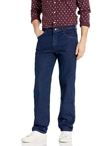 Maverick Herren Regular Fit Jeans Dark Rinse 34x32