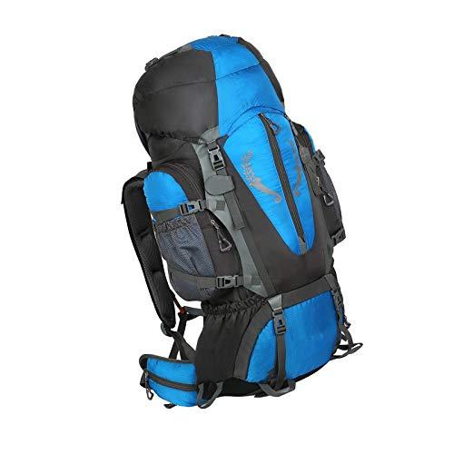 Mochila para deportes al aire libre Senderismo Viajar Trekking Camping Azul