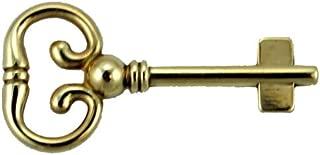 Skeleton Key Blank for Roll Top Desk Lock - Antique Furniture Hardware | M-4K