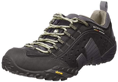 Merrell Intercept, Men's Low Rise Hiking, Black (Smooth Black), 8.5 UK (43 EU)