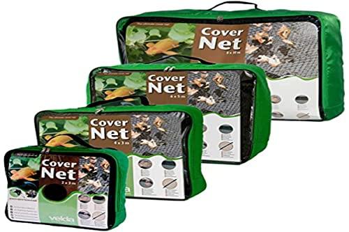 Velda 4x3m schwarz Teichabdeckung Reiherschutz Laubschutznetz Bild