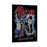 YEROU David Bowie-Poster, dekoratives Gemälde, Leinwand,