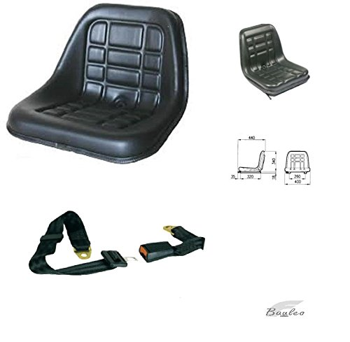 Sedile Trattore Cobo GT60 con Guide e Cinture di Sicurezza 60604+61736