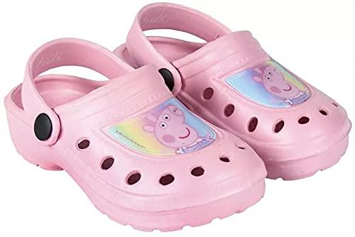 Peppa Pig Wutz Mädchen Pantoffeln Hausschuhe Badeschuhe rosa (28/29, numeric_28)