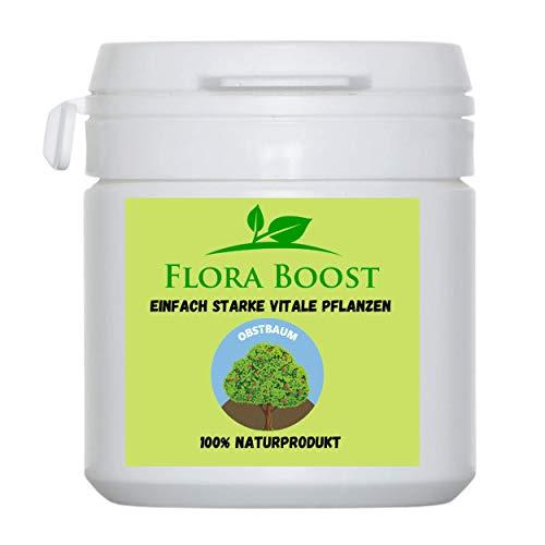 Flora Boost Obstbaum Dünger Pulver - Geeignet für alle Obstbaumsorten - Gesunde Bäume für bessere Ernten - Reicht für bis zu 300 Liter Gießwasser
