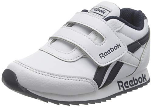 Reebok Royal CLJOG, Zapatillas de Running Unisex Niños, Blanco/Blanco/Maruni, 22.5 EU