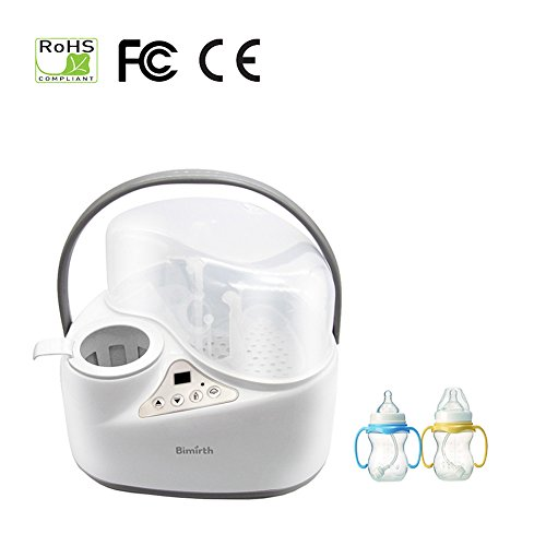 iBellete 4-in-1 Baby Flaschen wärmer Food Warmers, Sterilizer Food Heater Smart Thermostat ,Dampf-Sterilisator Schnell Milchwärmer gleichmäßig, Easy Safe Gentle up . - 4