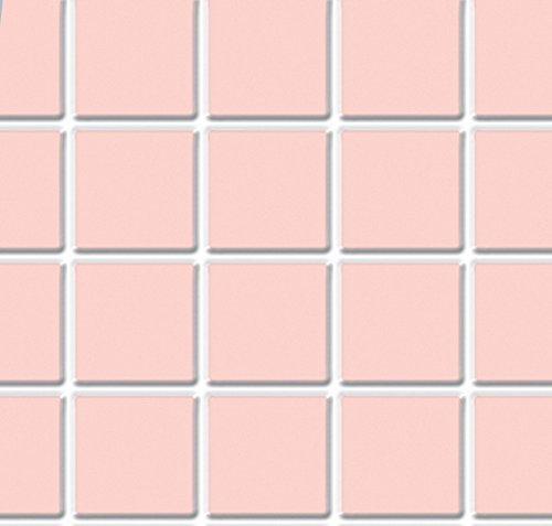 Melody Jane Puppenhaus Pink Fliese Bodenbelag Folie Geformtes Kunststoff Miniatur 1:12 Maßstab