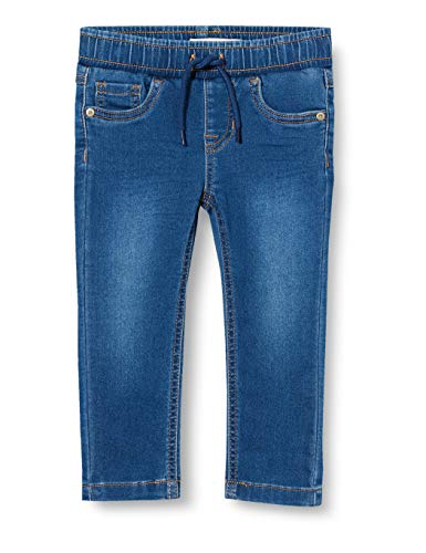 NAME IT Jungen NMMROBIN DNMTHAYERS 2385 SWE Pant NOOS Jeans, Medium Blue Denim, 110
