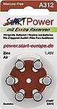 START - 60 Batterien für Hörgeräte - Typ...