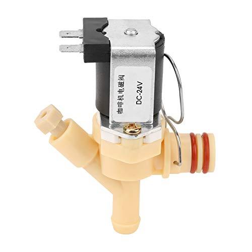 Elektrisches Magnetventil DC24V, normalerweise geschlossenes elektrisches Magnetventil Wasserventil für Kaffeemaschine und Wasserspender