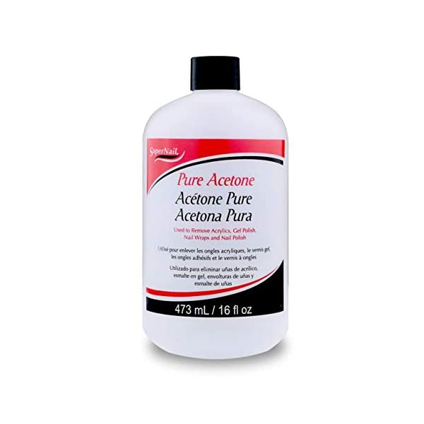 Beauty Shopping Super Nail Pure Acetone, AS SHOWN 16 Fl Oz