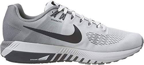 Nike Air Zoom Structure 21, Men's Running Shoes, Multicoloured (Pure Platinum/Anthracite/Cool Grey 001), 6 UK (40 EU)
