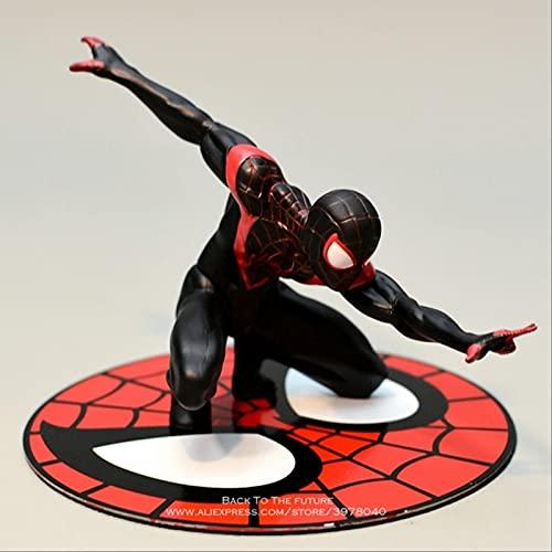 Geyang Spider Man 3 Estilos Anime Decoración Figurita Muñeca PVC Figura De Acción Modelo De Juguete Coleccionable para Niños Verde