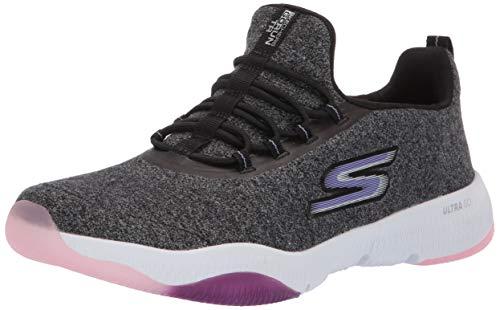 Skechers Women's GO Run TR-15190 Sneaker, Black/Lavender, 5 M US