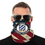 U.S. Army Veteran 3rd Infantry Division Outdoor Neck Headwear Face Gaiter Bandana Variety Scarf Mask...