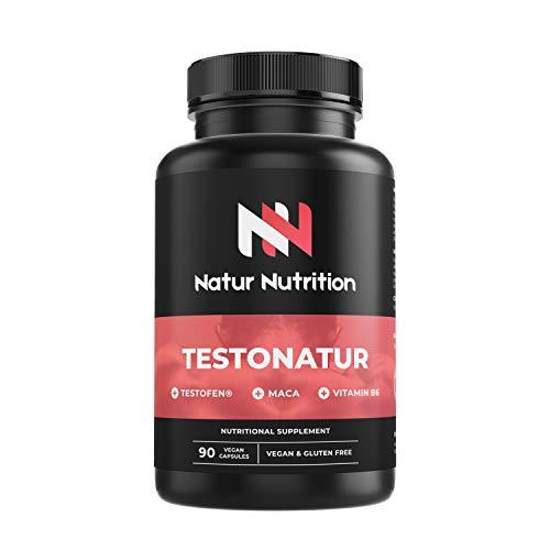 Testosterona testofen + maca+ taurina+ ginseng + Zinc + B6. Prohormonal, aumento...