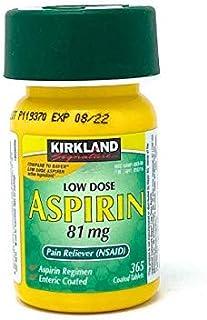 Best Kirkland Low Dose Aspirin 81 Milligram 365 Enteric Coated Tablets Review