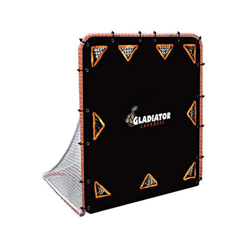 Gladiator Lacrosse Goal Target Shooter Advanced Level, Multipocket, 9-Pocket Advanced Lacrosse Target Black Multi, Fits all standard sized lacrosse goals 6′ x 6′