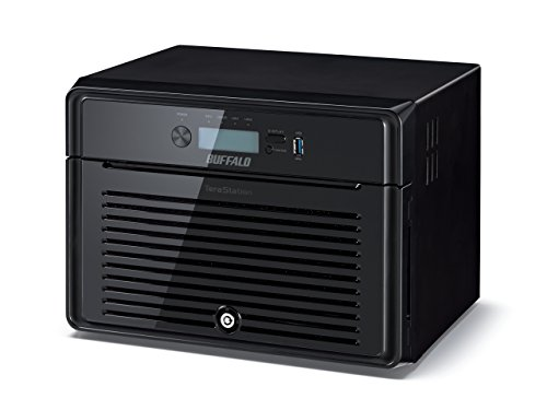 Buffalo TeraStation 5800 WD RED NAS-server (2x Gigabit RAID 0/1/5/6/10/50/51/60/61) zwart 16TB zwart