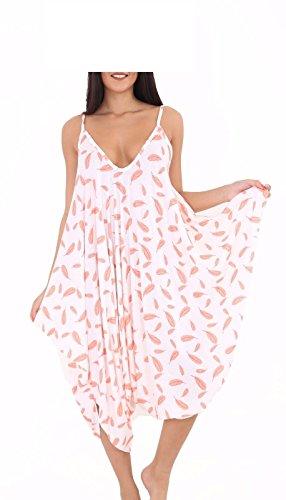 Momo&Ayat Fashions Dames Cami Lagenlook Romper Baggy Harem Jumpsuit Playsuit UK Maat 8-26