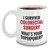 Survived Colorectal Surgery Mug Funny Colon Cancer Survivor Recovery mugs