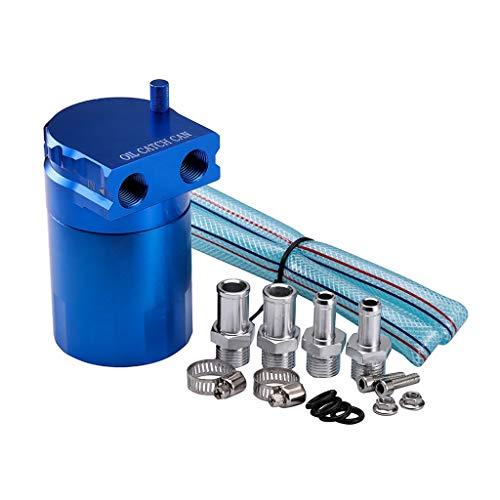 Detrade Automodifikation Motoröl Atmungsaktiver Wasserkocher Filter Auspuff Kettle Motor Allgemein Auto Änderung Motoröl Atmungsaktiver Topf (Blue)