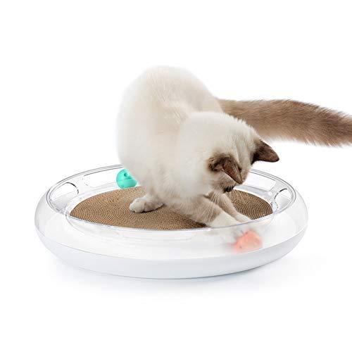 Aida Bz Multi-Fonction Cat Scratch Board Papier ondulé aiguiseur Griffe Plaque Chat Jouet Cat Fournitures Cat Griffe Conseil