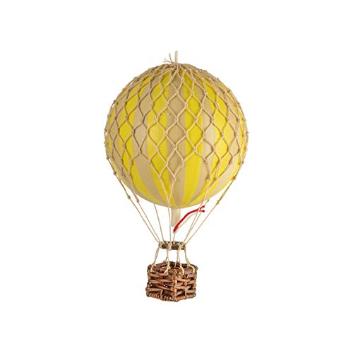 Authentic Models Floating The Skies Hot Air Balloon Replica, Color: Yellow by