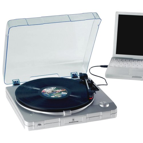 Innovative Technology ITUT-201 USB Turntable (silver) (Discontinued by Manufacturer)