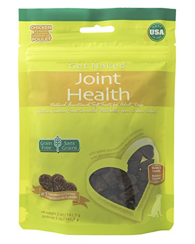 Get Naked 1 Pouch Joint Health Soft Dog Treats, 5 Oz