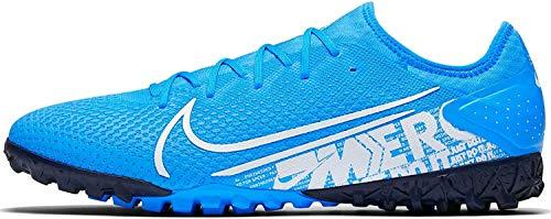 Nike Herren Vapor 13 Pro Tf Fußballschuh, Mehrfarbig Blue Hero White Obsidian 414, 42.5 EU