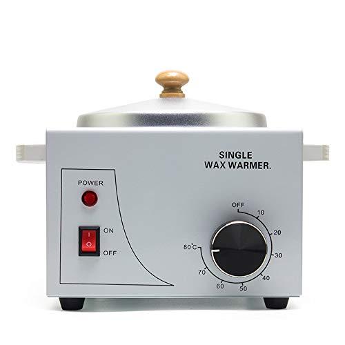 BBOOXX 500ML Olla Individual Parafina Calentador Más cálido Depilador Mujer Depilación Depilación Máquina Calentador de Cera Terapia de Cera Instrumento White-100W