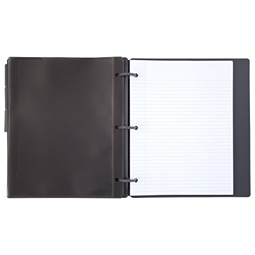 Five Star Flex Hybrid NoteBinder, 1 Inch Binder with Tabs, Notebook and 3 Ring Binder All-in-One, Geo (29148BQ7) Photo #2