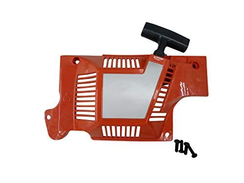 ENGINERUN Seilzugstarter Starter Assy kompatibel mit Husqvarna 51 55 50 Rancher EPA Kettensägen OEM 503608803 503 15 18-01 503 60 88-03