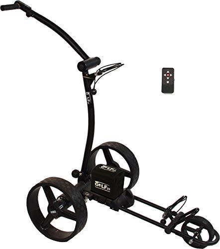 Elektro Golf Trolley PGE 3.0 Funkfernbedienung, 400W, 12V33Ah,USB, schwarz