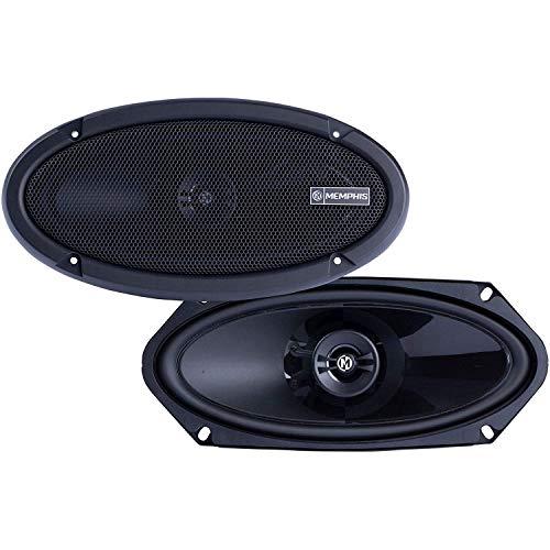 Memphis Audio PRX410 Power Reference 4x10 Inch 50 Watt RMS 100 Watt Peak Power 2 Way Coaxial Car Speaker System