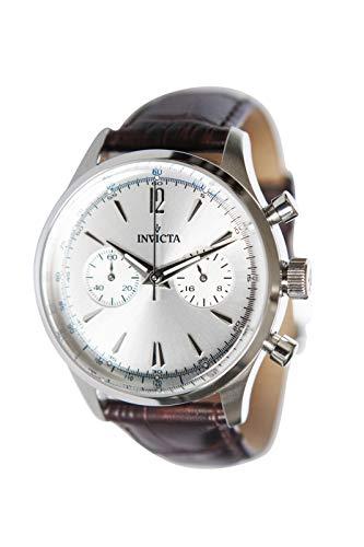 INVICTA Orologio Cronografo Quarzo Uomini con Cinturino in Pelle 35113