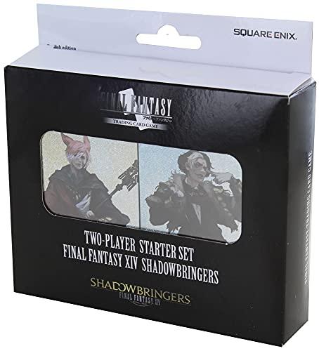 Final Fantasy TCG XIV Shadowbringers - Juego de barajas para dos jugadores, 2 x 50 cartas