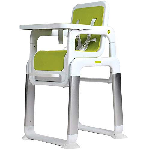 MASODHDFX Split kind eetkamerstoel metaal baby voerbare baby eettafel PP zitting aparte baby voeringstoel, A