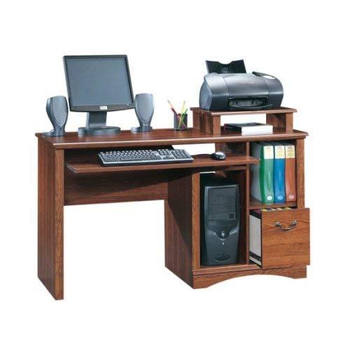 Sauder Camden County Computer Desk, Planked...