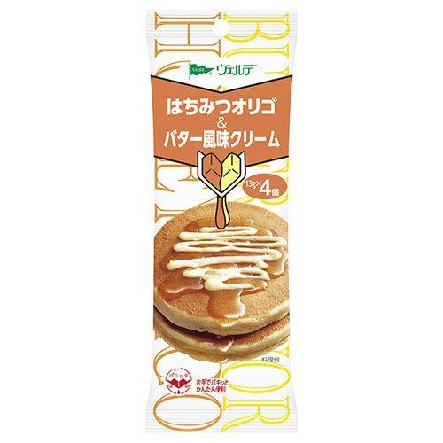 アヲハタ ヴェルデ ハチミツオリゴ&バター風味クリーム (13g×4個)×12袋入×(2ケース)