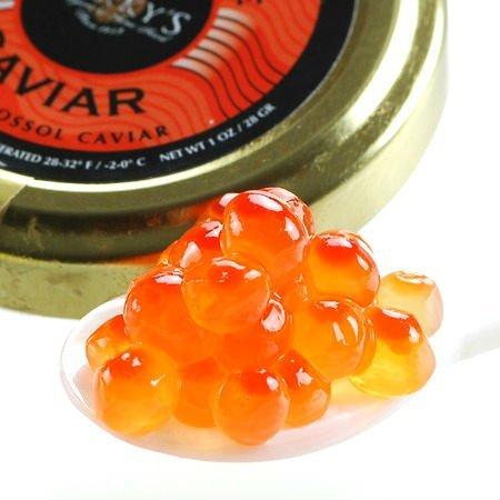 Salmon Ikura Roe Keta Chum Caviar - 16 oz