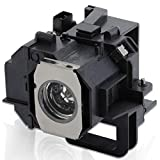 ESolid Projector Lamp Bulb for Epson ELPLP49 PowerLite Home Cinema 8350 8700UB 8345 8500UB 6100 6500UB 9700UB 7100 7500UB 9100 9350 9500UB 9700UB TW3600 TW3800 TW5000 TW5500 V13H010L49 Replacement
