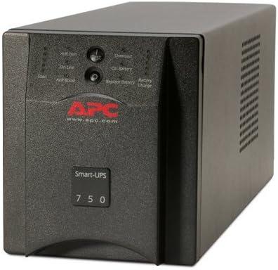 APC SUA750 - Smart-UPS 750VA UPS Battery Backup (Renewed)