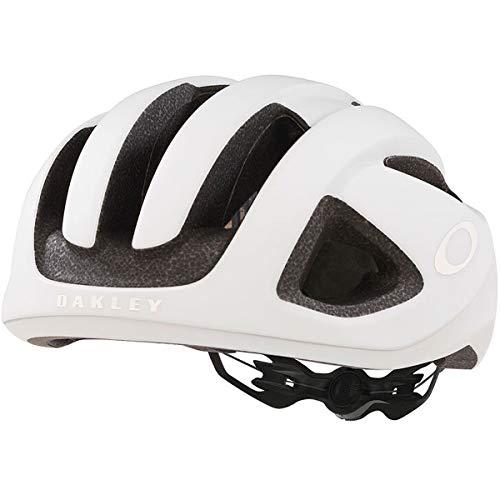 Oakley ARO 3 - Casco para bicicleta de carretera, color blanco mate, tamaño L (56 - 60 cm)