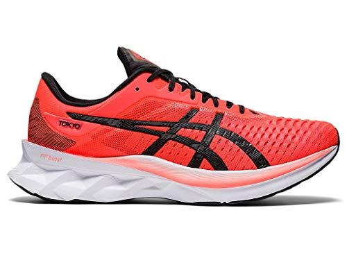 ASICS Men's Novablast Tokyo Running Shoes, 8.5M, Sunrise RED/Black