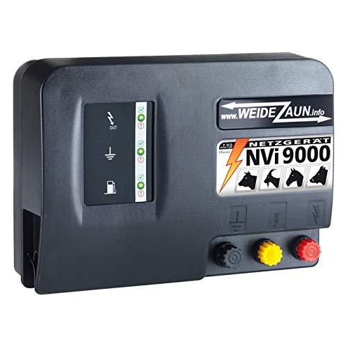 VOSS.farming Electrificador de vallas para pastos (230 V, NVI 9000, 11 julios...